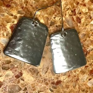 Chico's Hammered Silver Earrings
